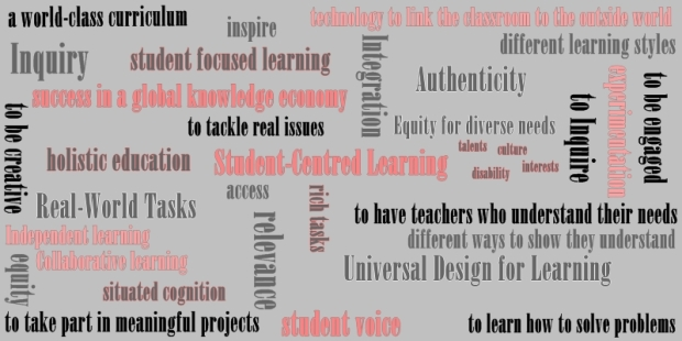 The needs of 21st century learners are vast and varied.